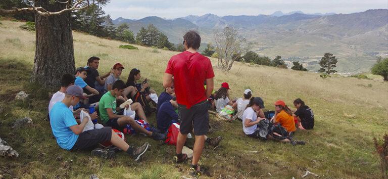 kayak-pico-azul-campamentos-montaña-leon